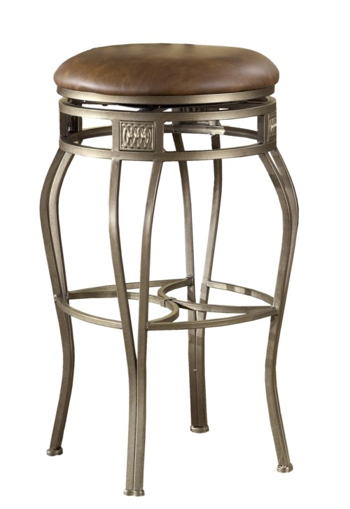 Backless Bar Stools 26 Quot Backless Montello Swivel Counter
