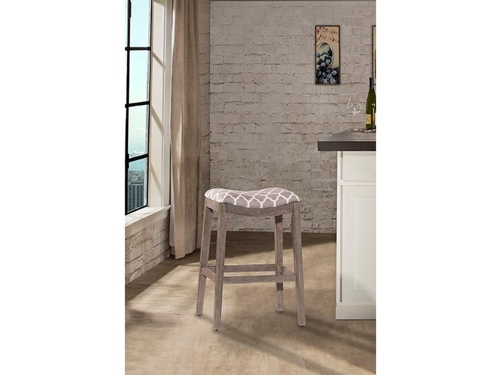 Hillsdale Backless Bar StoolsSorella Saddle Bar Stool