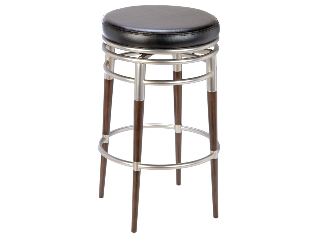 Backless Bar Stools 30 M Swivel Stool By Hilale At Miller Home