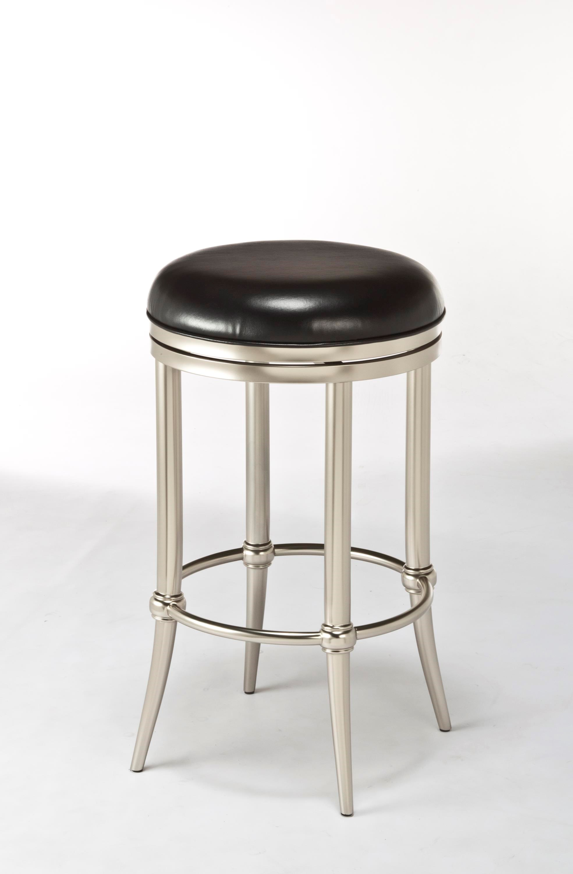 Cadman Backless Counter Stool with Tapered Feet
