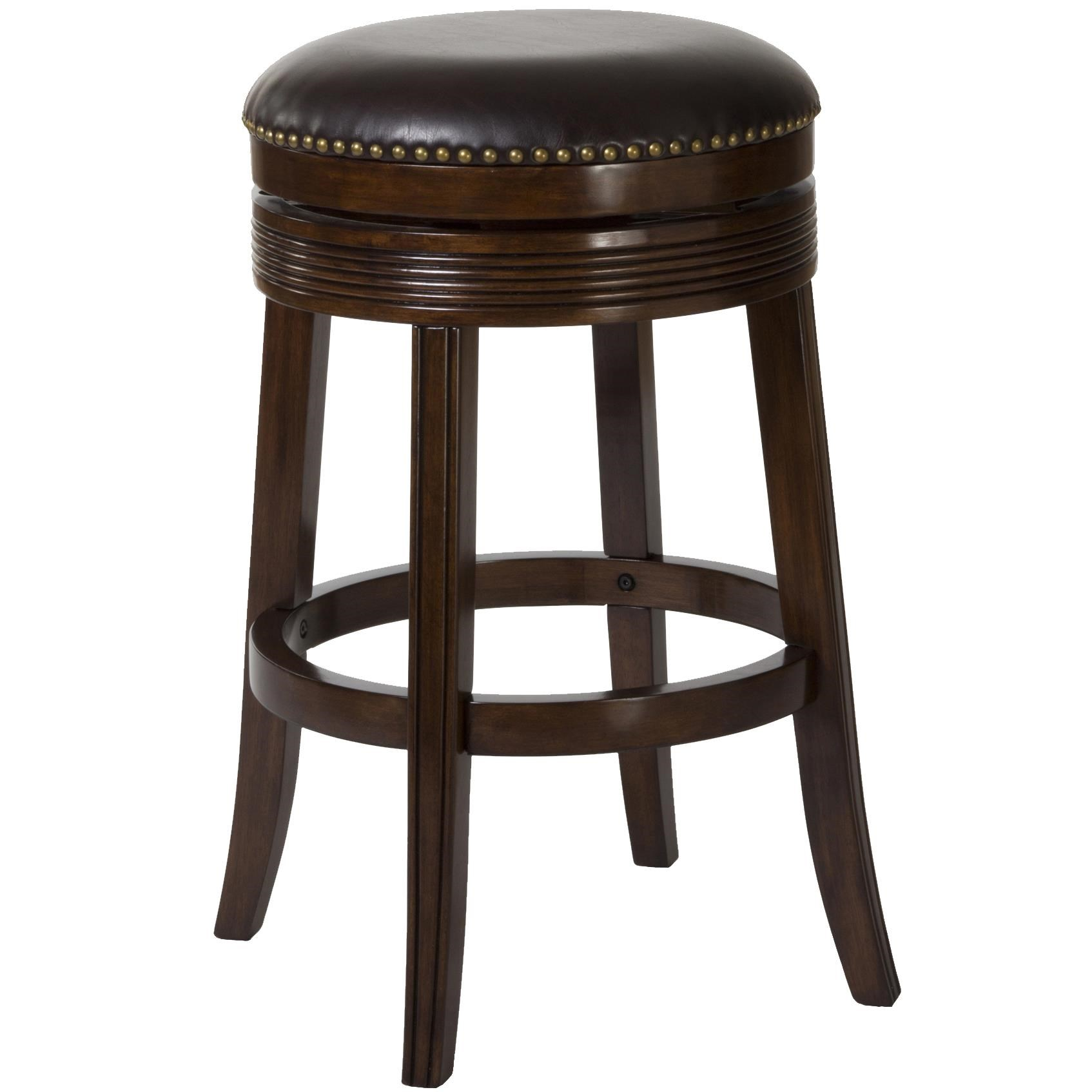 Hillsdale Backless Bar Stools 26  Tillman Backless Swivel Counter Stool  sc 1 st  Royal Furniture & Hillsdale Backless Bar Stools 26