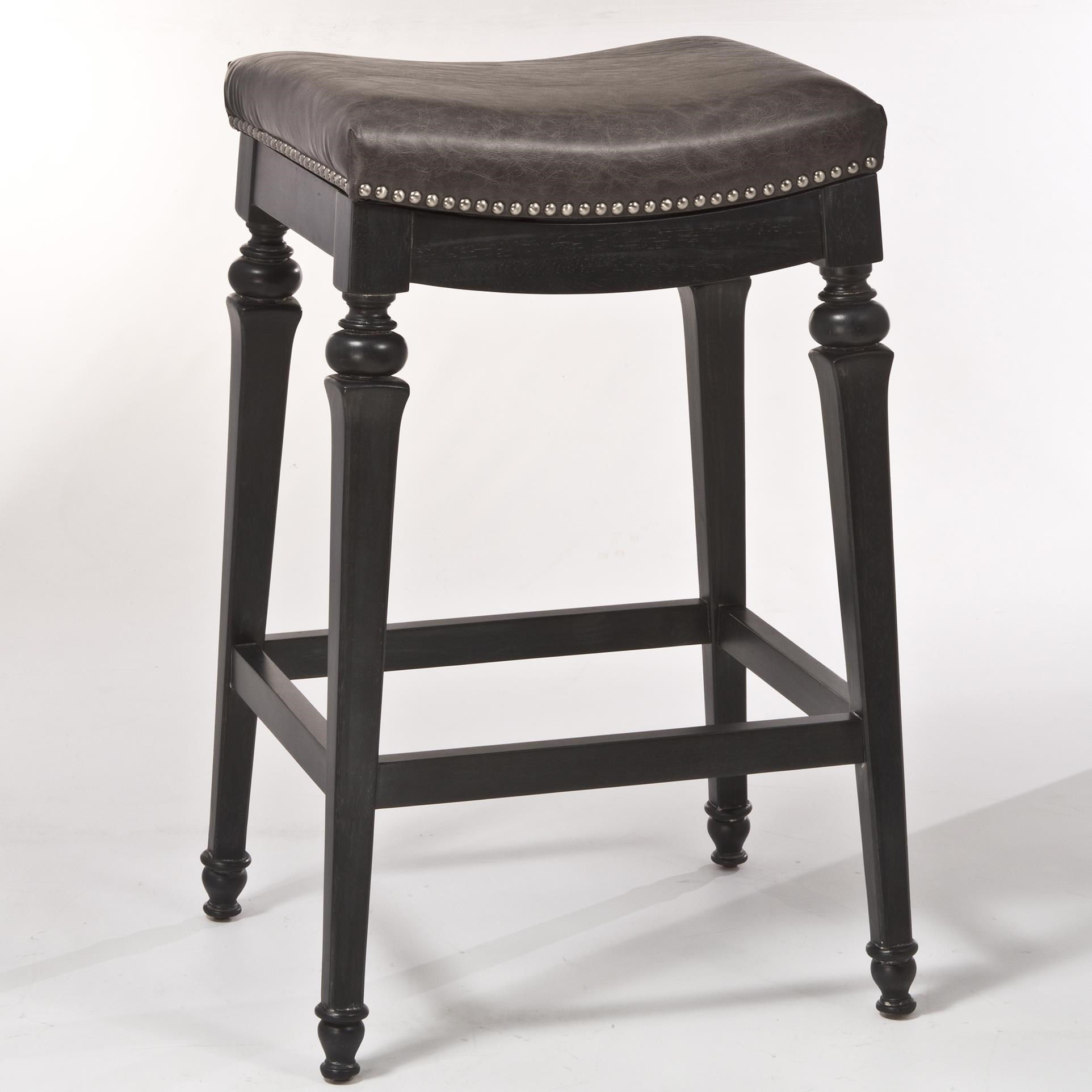 hillsdale bar stools. Hillsdale Backless Bar Stools Non-Swivel Counter Stool With Nailhead Trim S