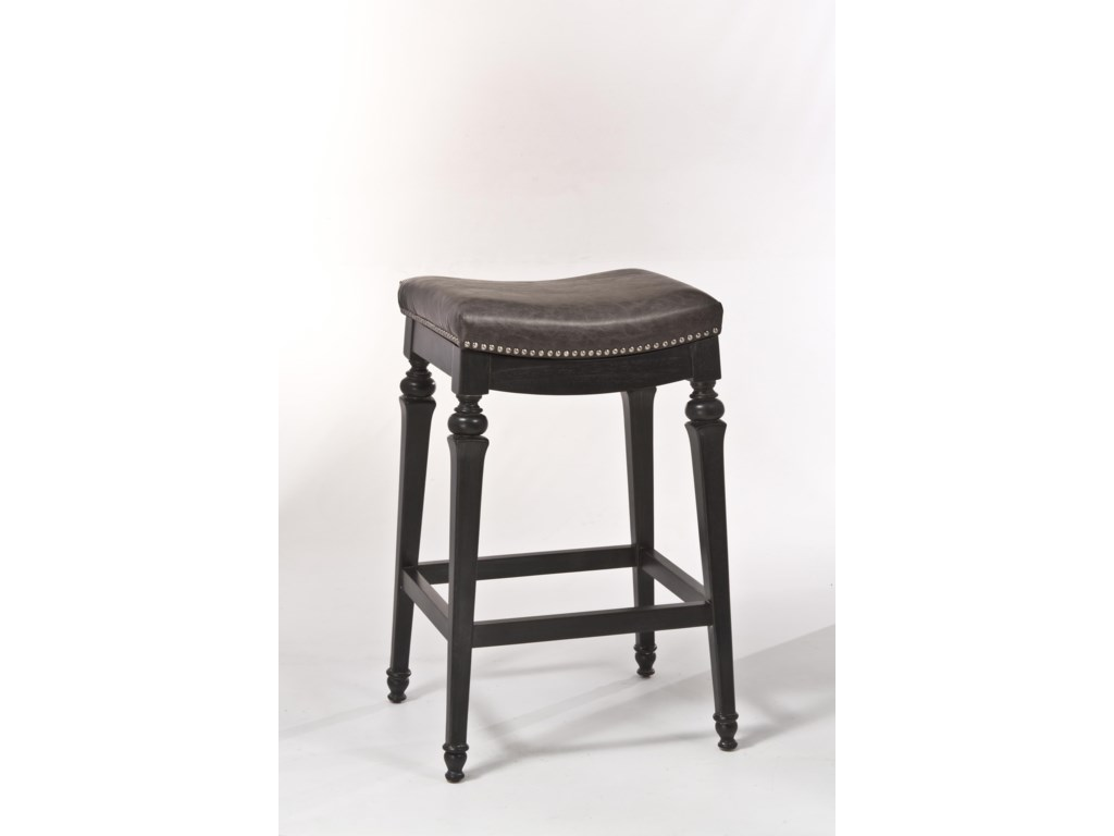 Hillsdale Backless Bar Stool Backless Non Swivel Bar Stool With