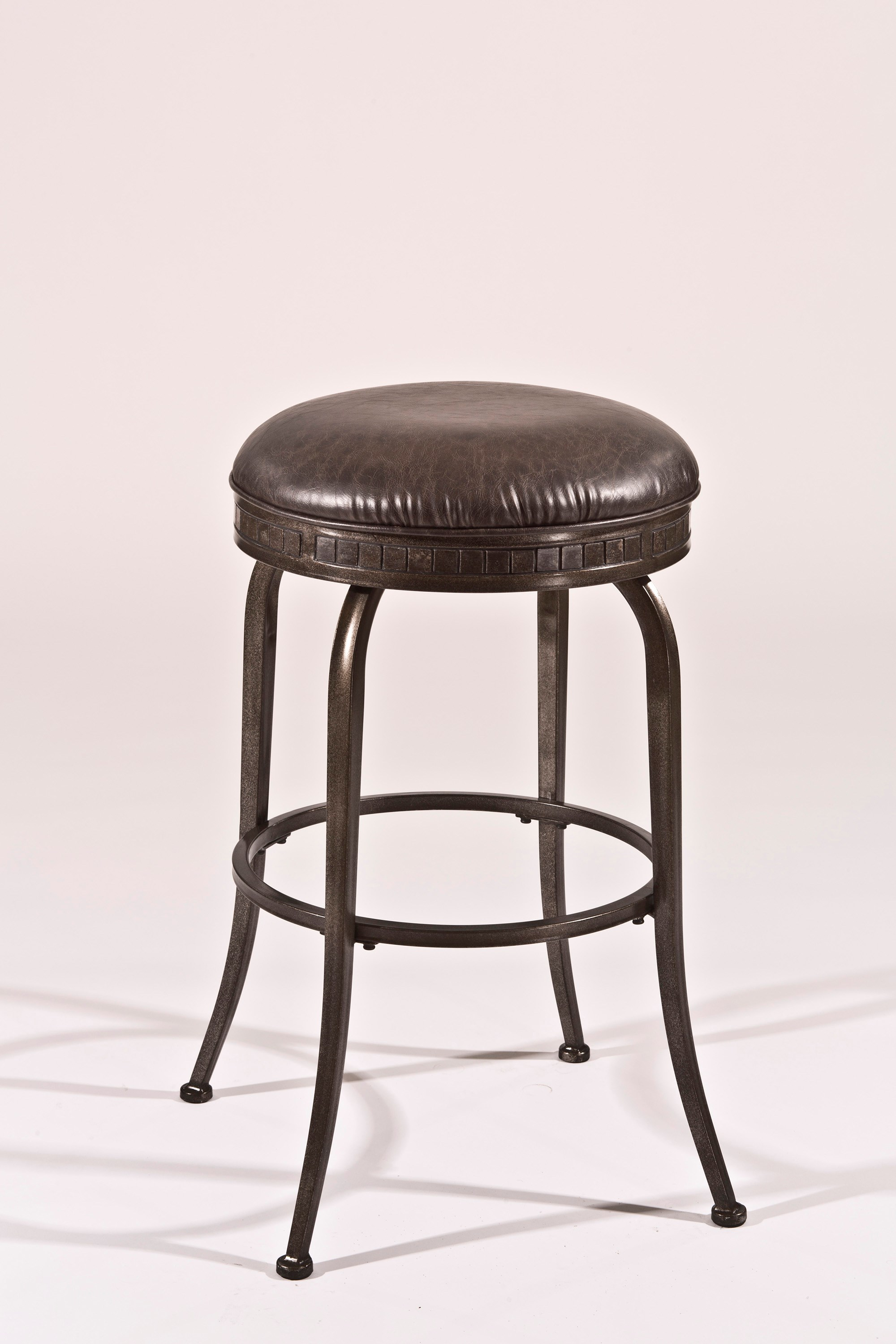 Hillsdale Backless Bar Stools Black Backless Swivel