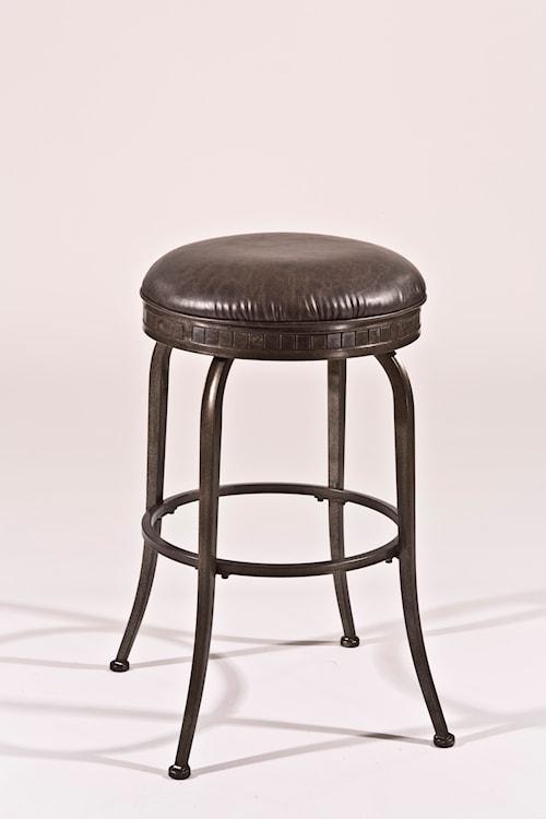 Hillsdale Backless Bar Stools Black Backless Swivel Bar