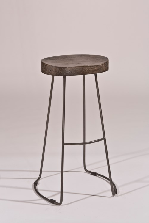Hillsdale Backless Bar Stools Minimalist Tractor Non