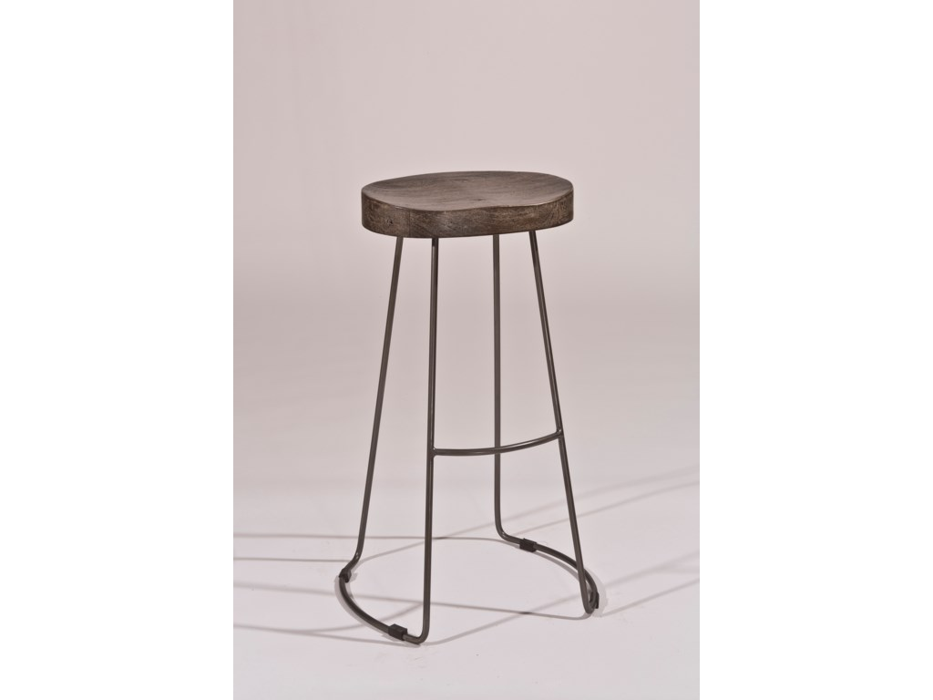 Hillsdale Backless Bar StoolsTractor Non-Swivel Bar Stool
