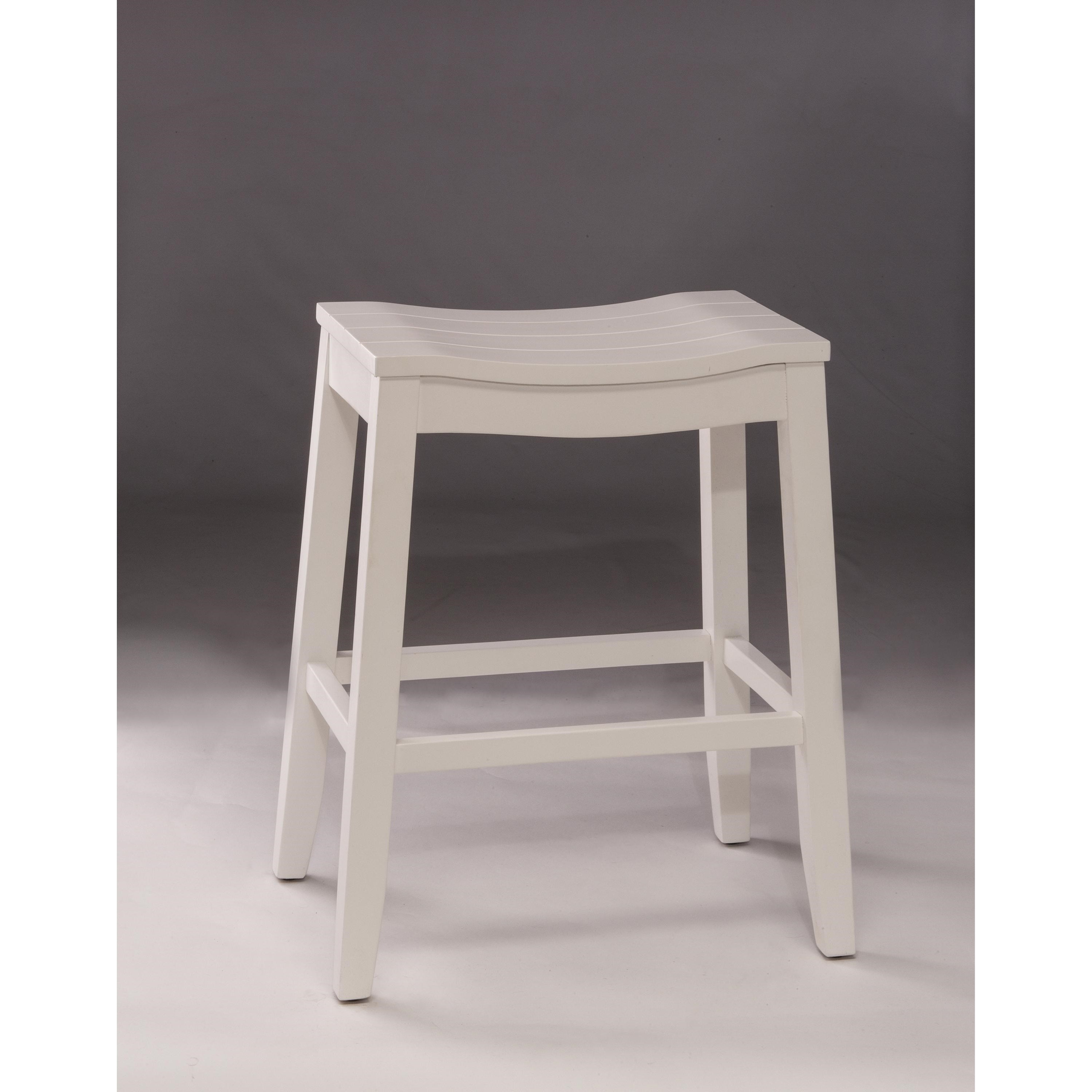 Picture of: Hillsdale Backless Bar Stools White Backless Non Swivel Counter Stool Wayside Furniture Bar Stools