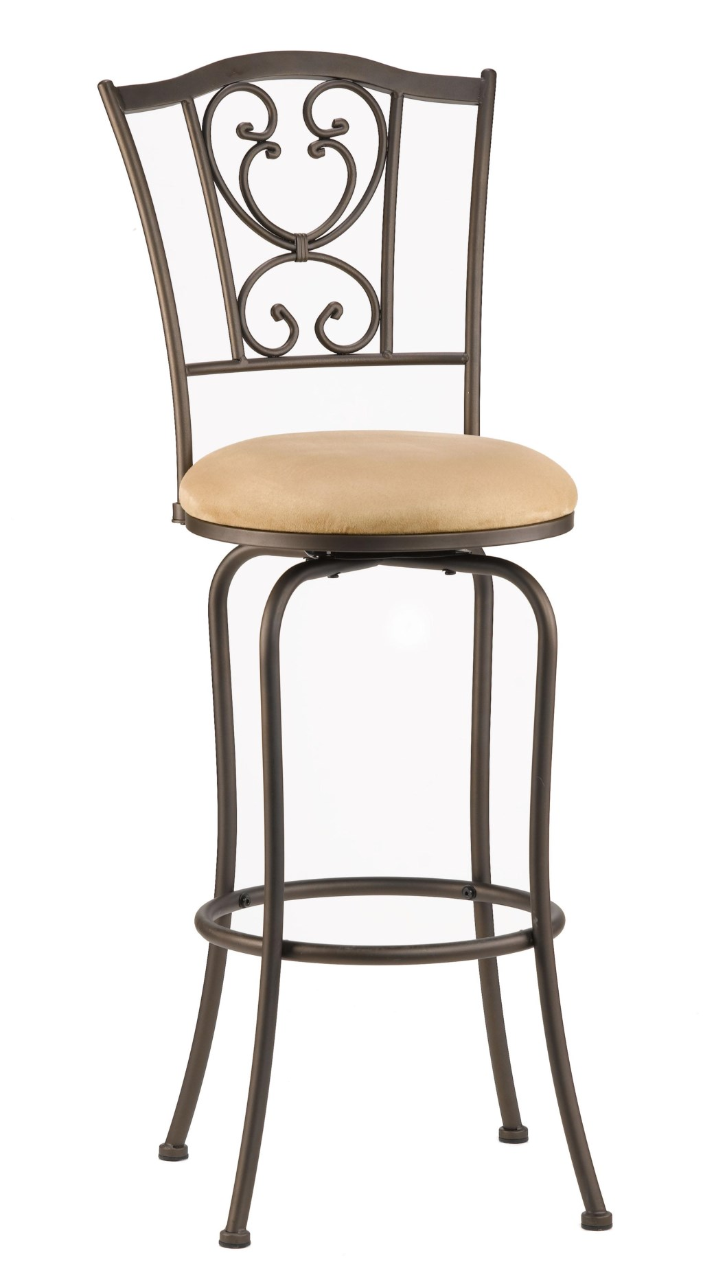 Hillsdale Metal Stools 4120 821 24 Bar Height Concord Swivel Stool