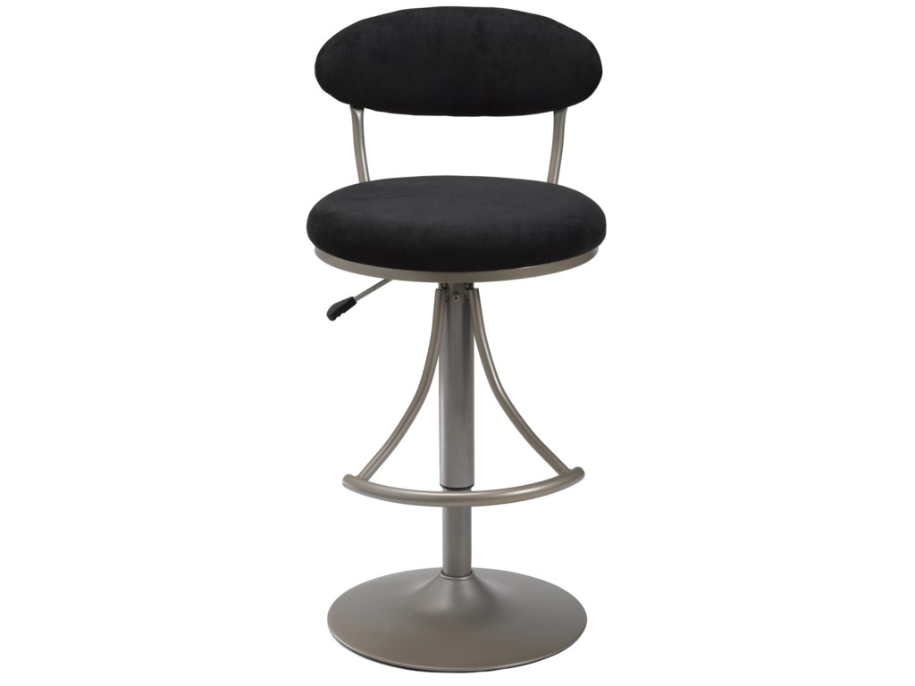 Hillsdale Metal StoolsAdjustable Height Venus Swivel Stool