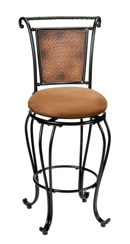 Metal Stools 24 Quot Counter Height Milan Swivel Stool