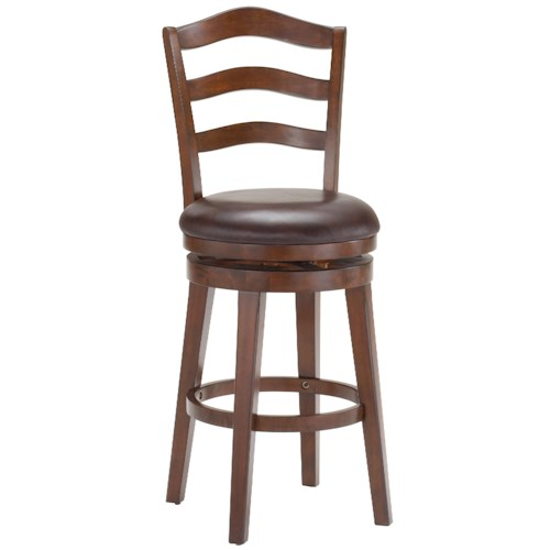 Hillsdale Metal Stools Windsor Swivel Counter Stool