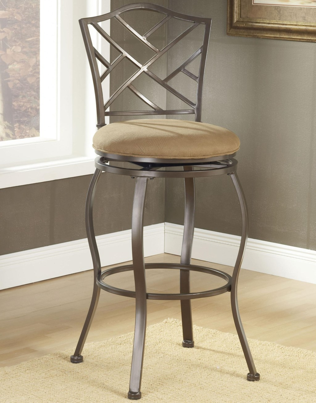 Metal Stools 24 Counter Height Hanover Swivel Stool Morris Home