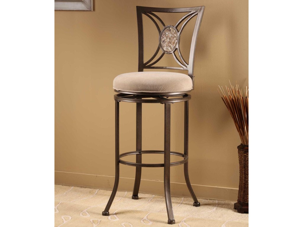 Hillsdale Metal StoolsRowan Swivel Bar Stool