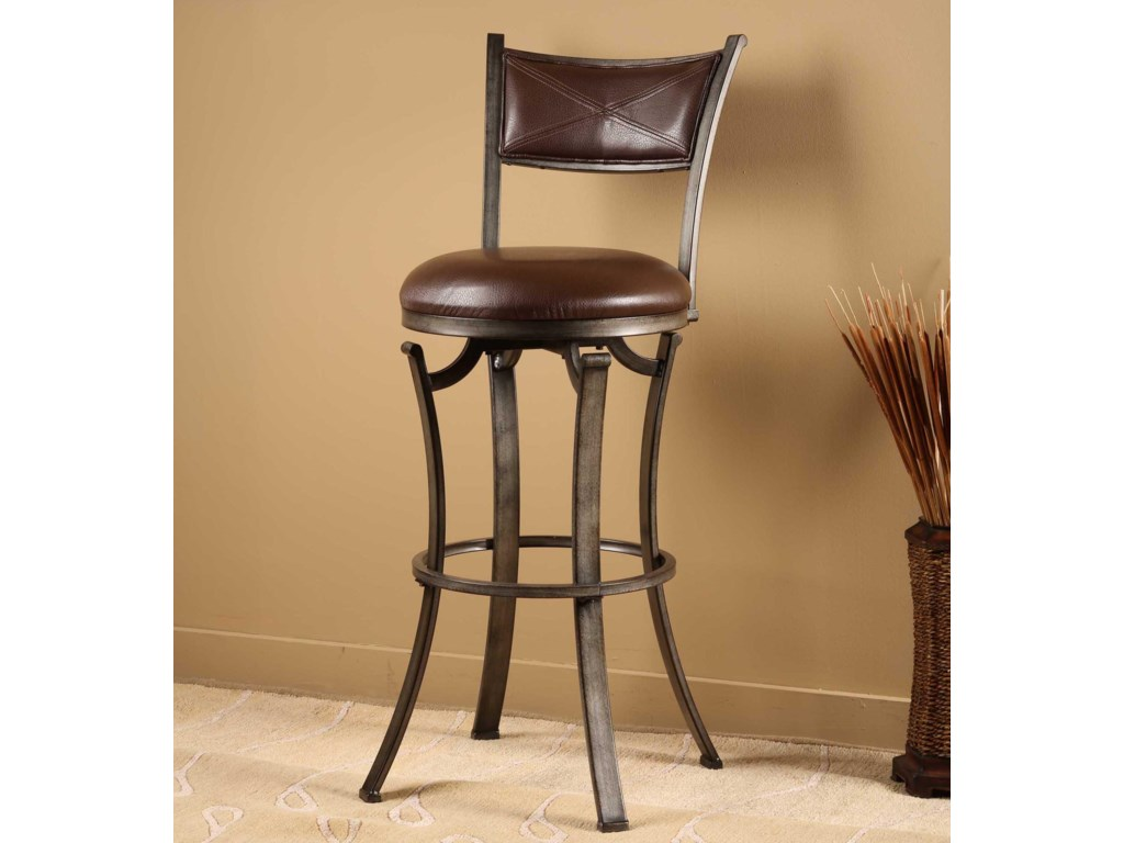 Hillsdale StoolsDrummond Swivel Counter Stool