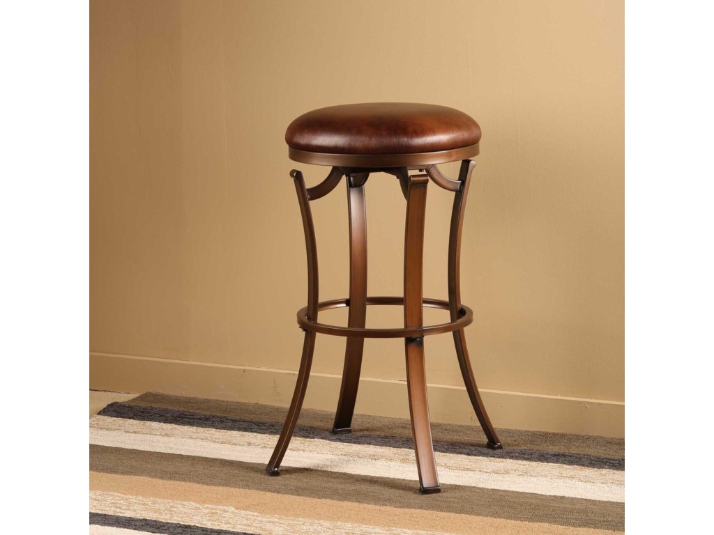Hillsdale Metal StoolsKelford Backless Swivel Bar Stool