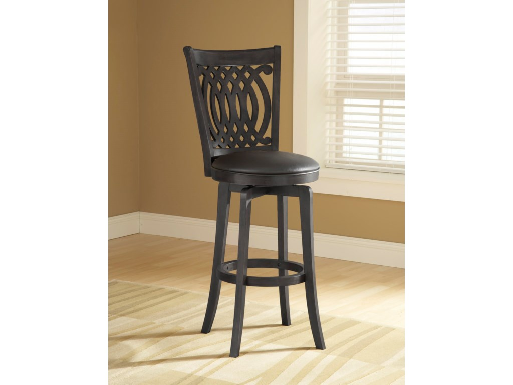 Hillsdale Metal StoolsVan Draus Swivel Counter Stool