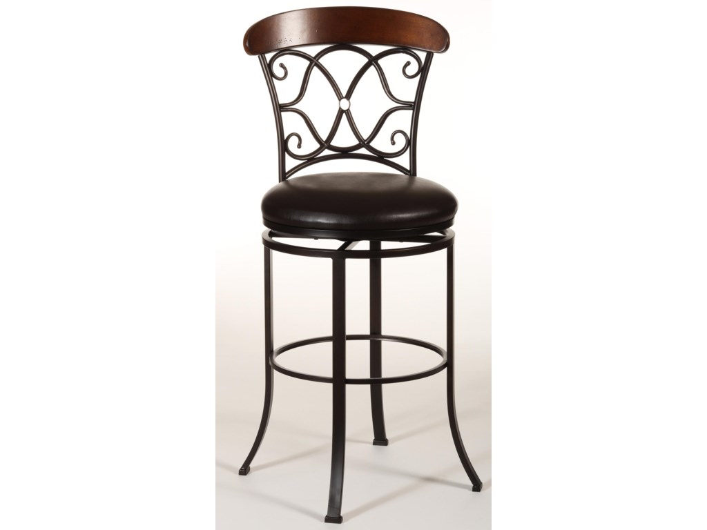 Hillsdale Metal StoolsDundee Swivel Counter Stool