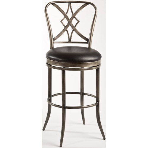 Hillsdale Metal Stools Jacqueline Commercial Counter Stool