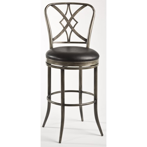 Hillsdale Metal Stools Jacqueline Commercial Bar Stool