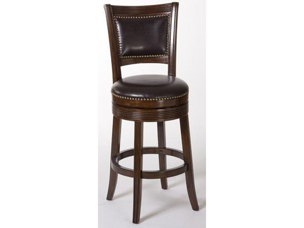 Hillsdale Metal StoolsLockfield Swivel Counter Stool