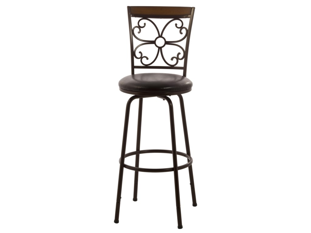 Hillsdale Metal StoolsGarrison Swivel Counter/ Bar Stool