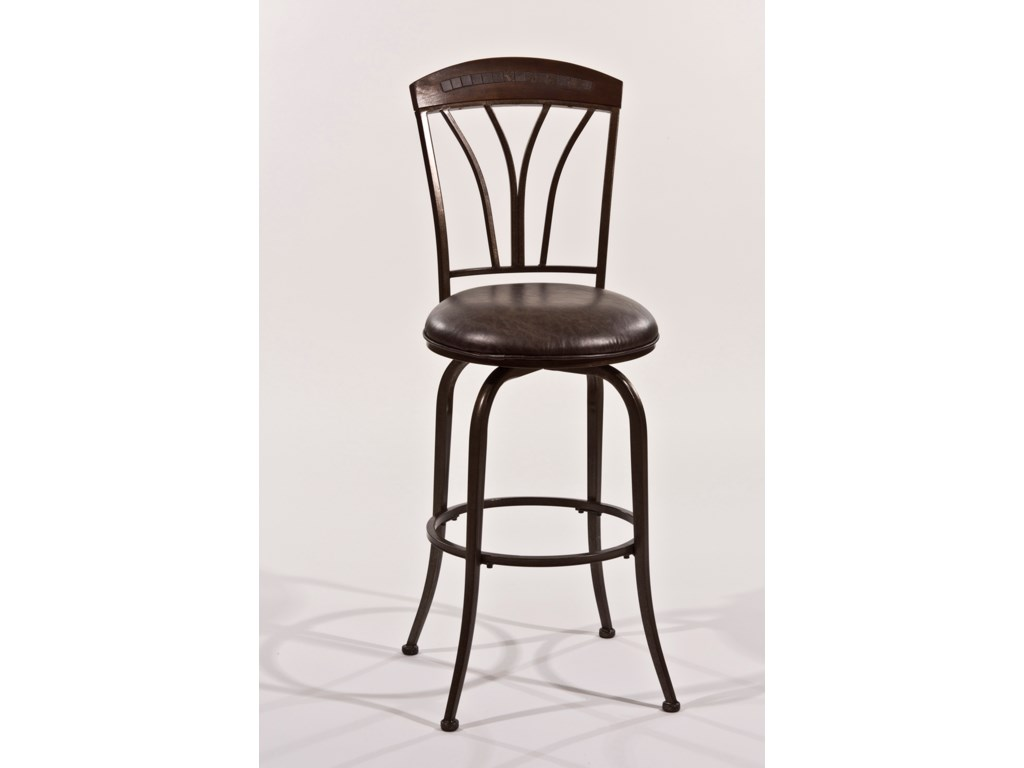 Morris Home Metal StoolsSwivel Bar Stool