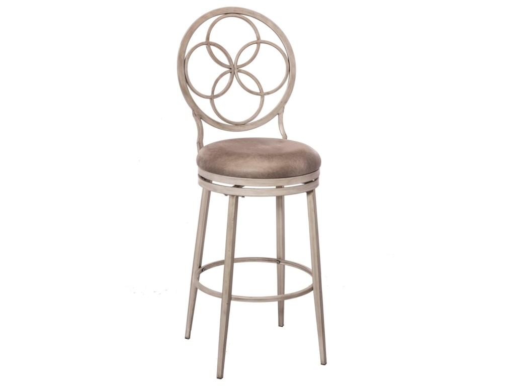 Morris Home Metal StoolsSwivel Counter Stool