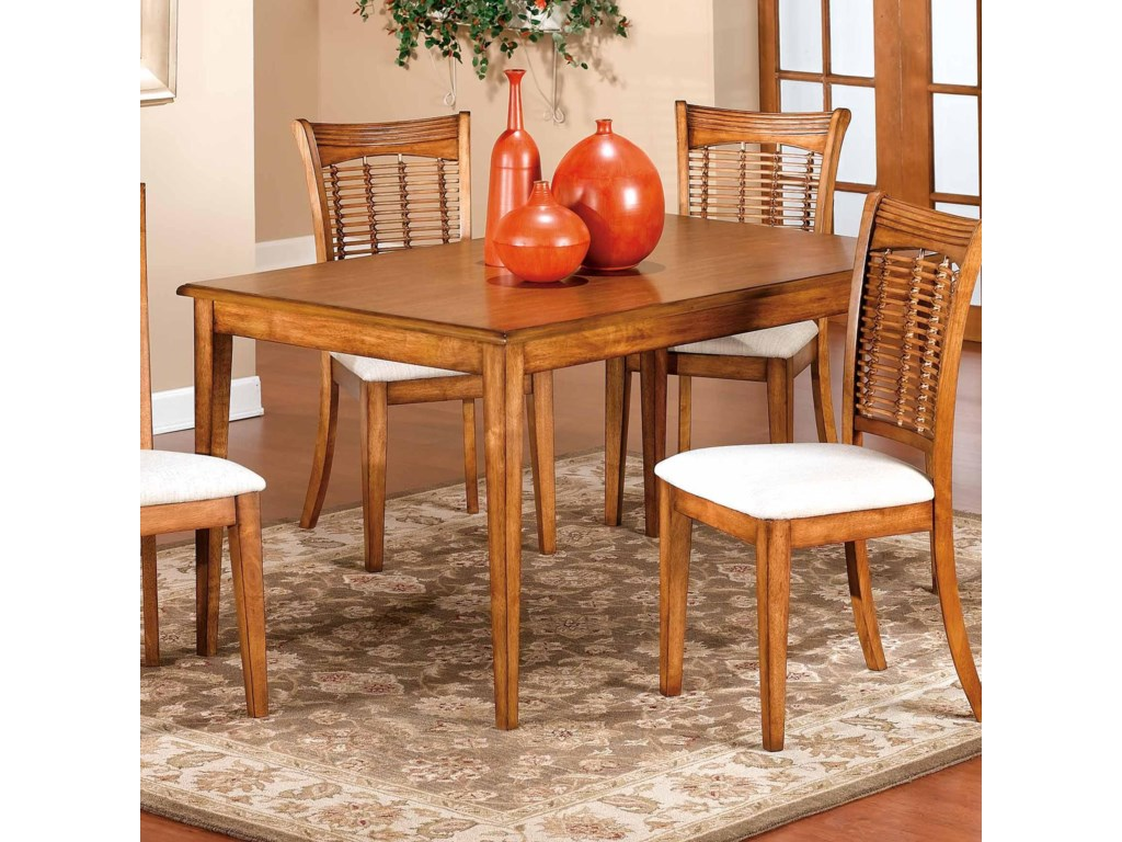 Hillsdale Bayberry and GlenmaryRectangle Table