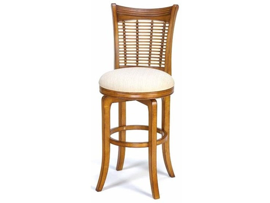 Hillsdale Bayberry and GlenmarySwivel Bar Stool