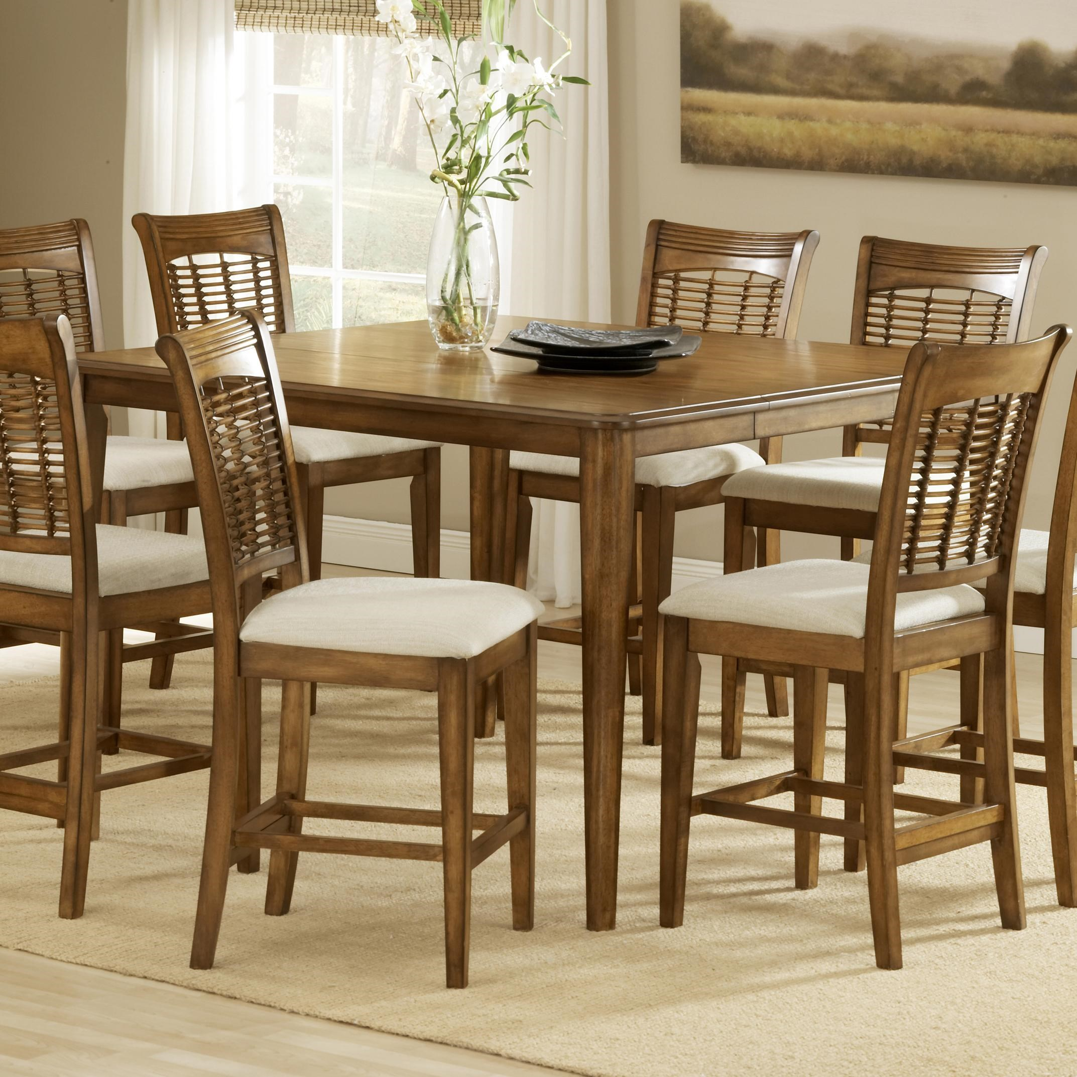 Hillsdale Bayberry and GlenmaryCounter Height Gathering Table ...  sc 1 st  Dunk \u0026 Bright Furniture & Hillsdale Bayberry and Glenmary 4766-835 Counter Height Gathering ...