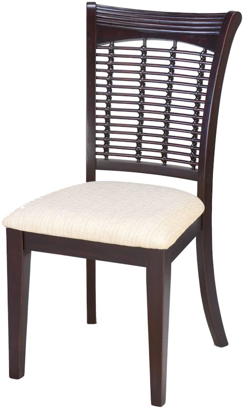 Hillsdale Bayberry and Glenmary Set of Two Wicker Dining Side Chairs