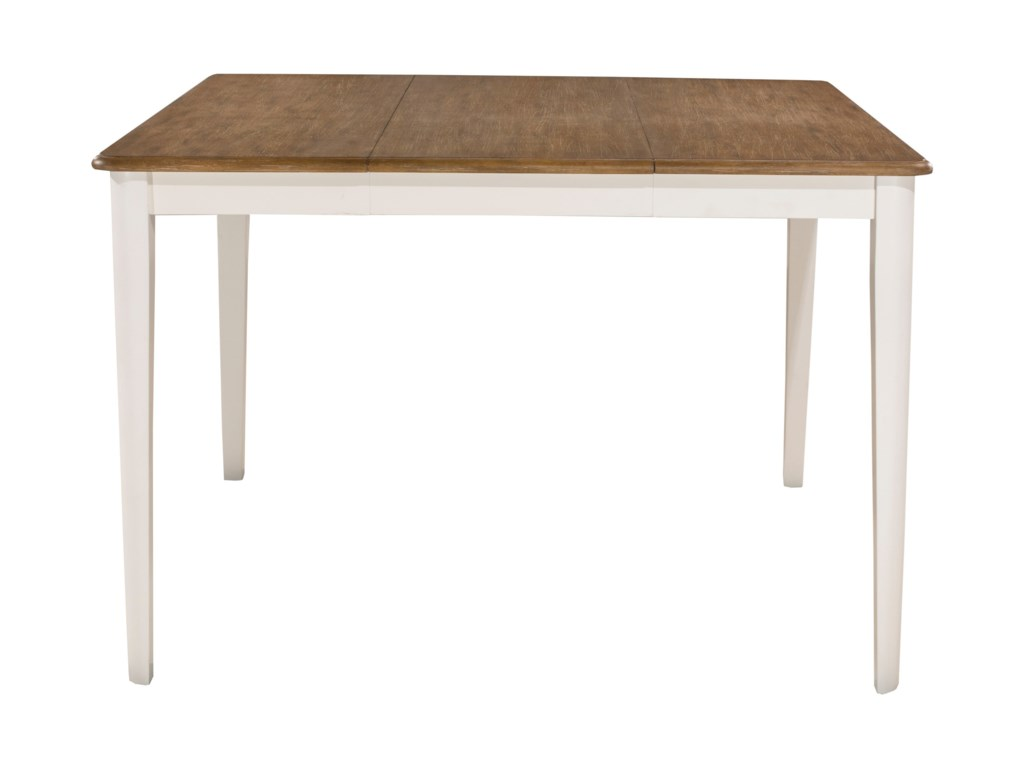 Hillsdale Bayberry WhiteCounter Height Gathering Table