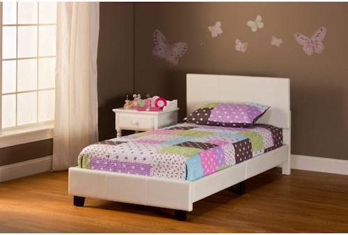Hillsdale Bed in a Box Twin Springfield Complete Bed Set