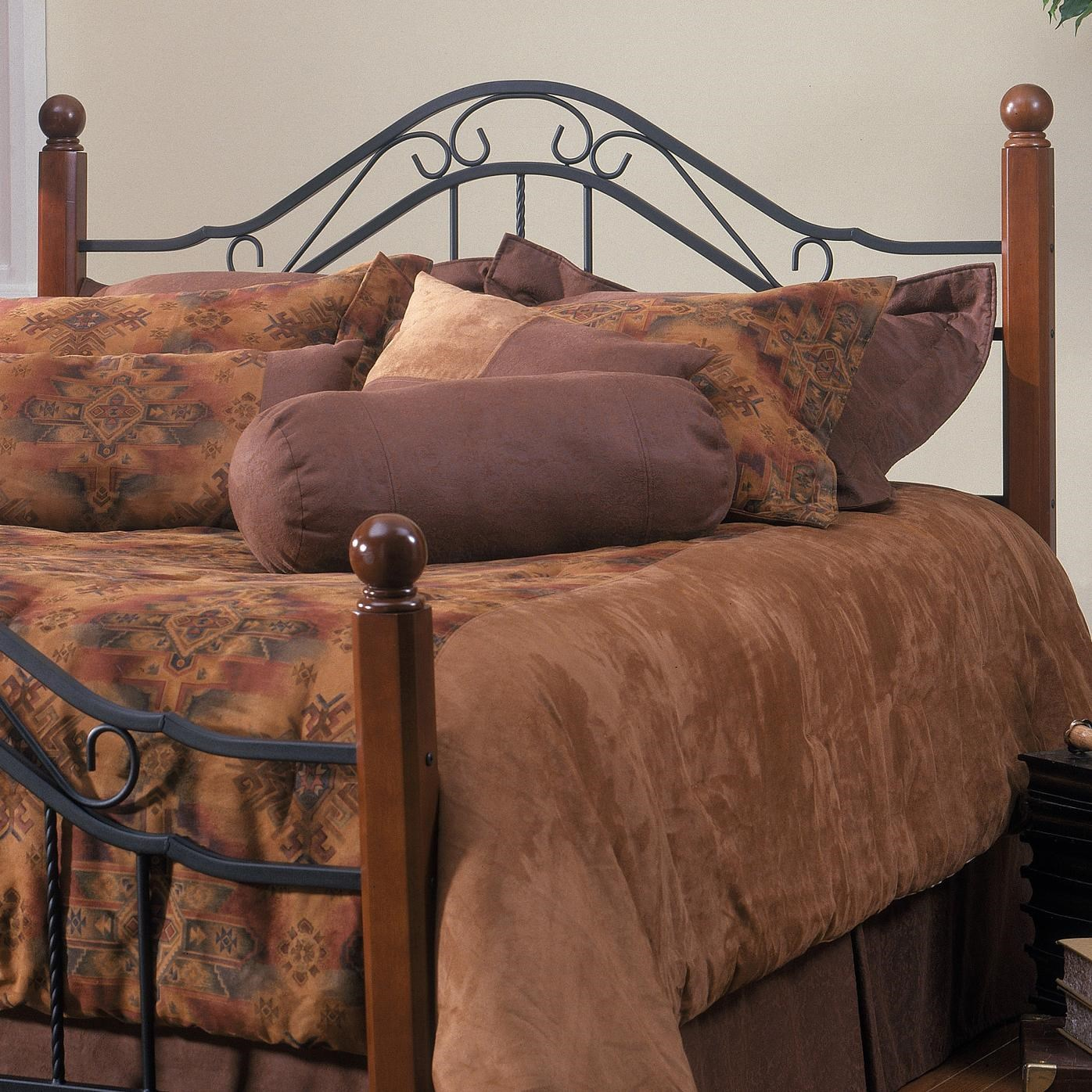 Picture of: Hillsdale Metal Beds Full Queen Madison Headboard Conlin S Furniture Headboards