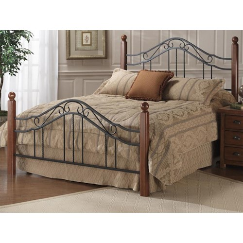 Hillsdale Metal Beds King Madison Bed