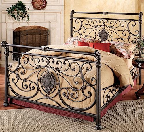 Hillsdale Metal Beds King Mercer Bed