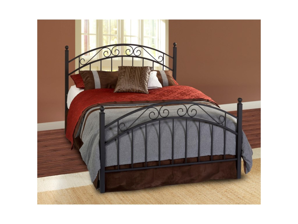 Hillsdale Metal BedsKing Willow Bed Set