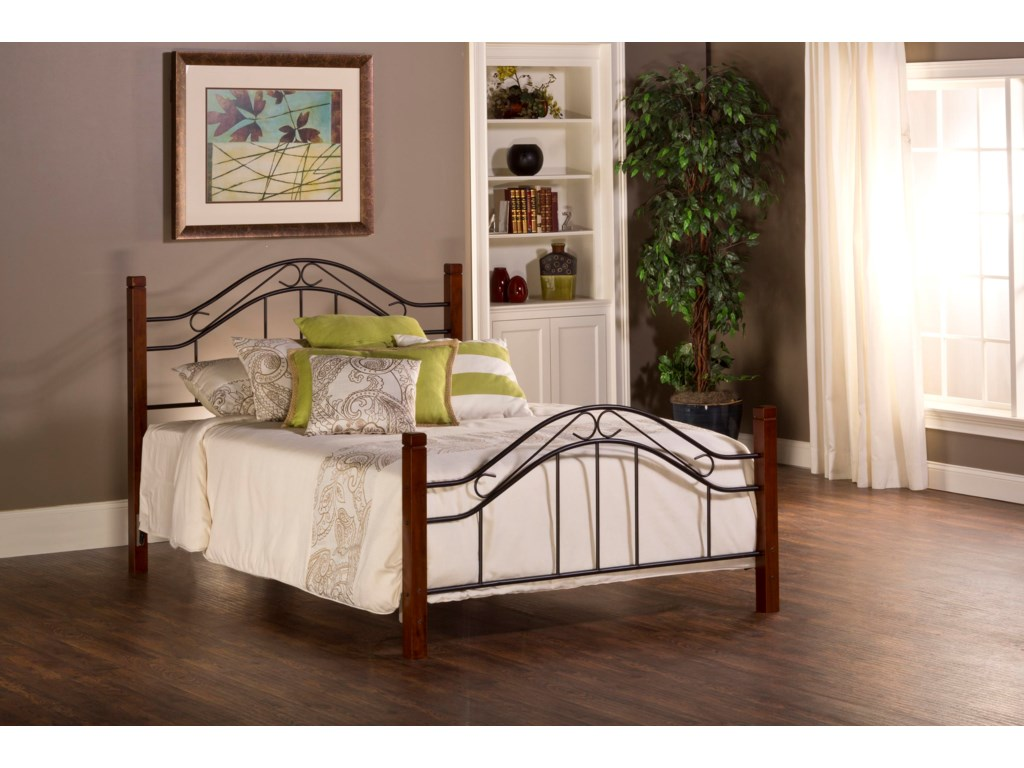 Hillsdale Metal BedsMatson Queen Bed Set Without Rails