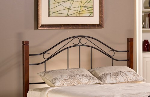 Hillsdale Metal Beds Twin Matson Headboard with Arched Design