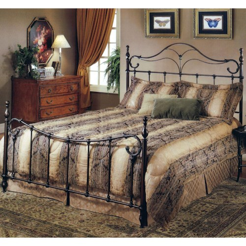 Hillsdale Metal Beds King Bennet Bed