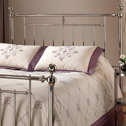 Hillsdale Metal Beds Holland Full/ Queen Headboard Without Rails and Slat Design