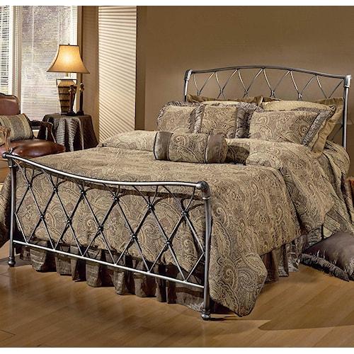 Hillsdale Metal Beds King Silverton Bed