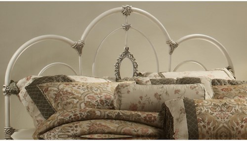 Hillsdale Metal Beds King Victoria Headboard - Rails not included