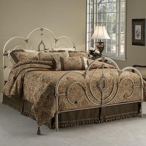 Hillsdale Metal Beds Queen Victoria Bed