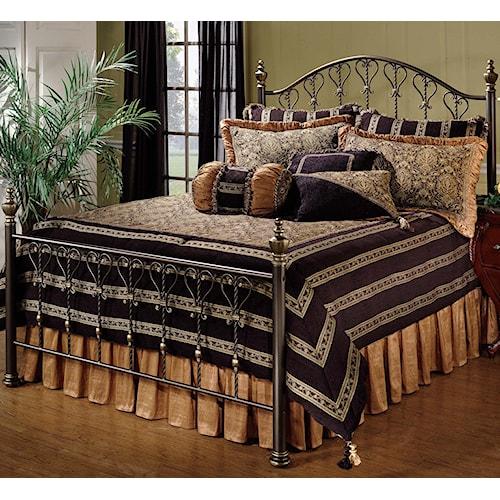 Hillsdale Metal Beds Queen Huntley Bed