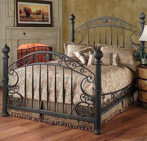 Hillsdale Metal Beds Queen Chesapeake Bed