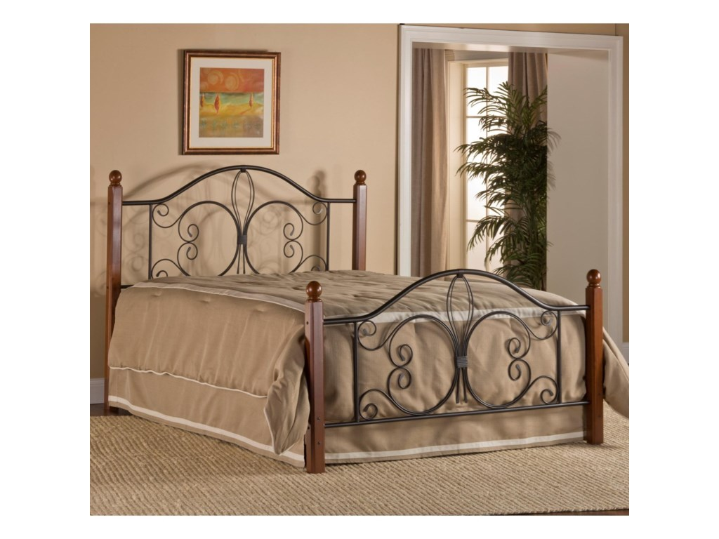 Hillsdale Metal BedsTwin Milwaukee Wood Post Bed