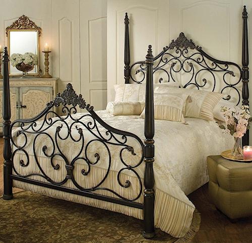 Hillsdale Metal Beds King Parkwood Bed
