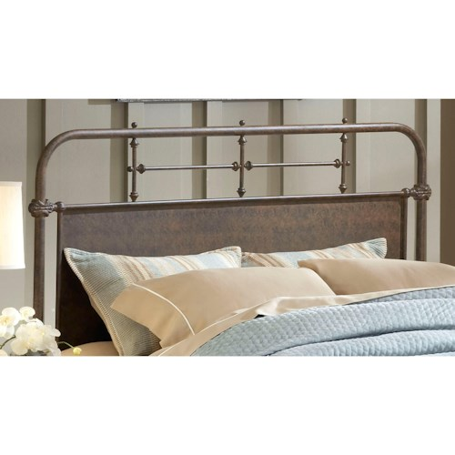 Hillsdale Metal Beds Full/Queen Kensington Headboard Set with Rails